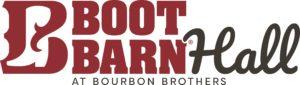 boot barn hall logo