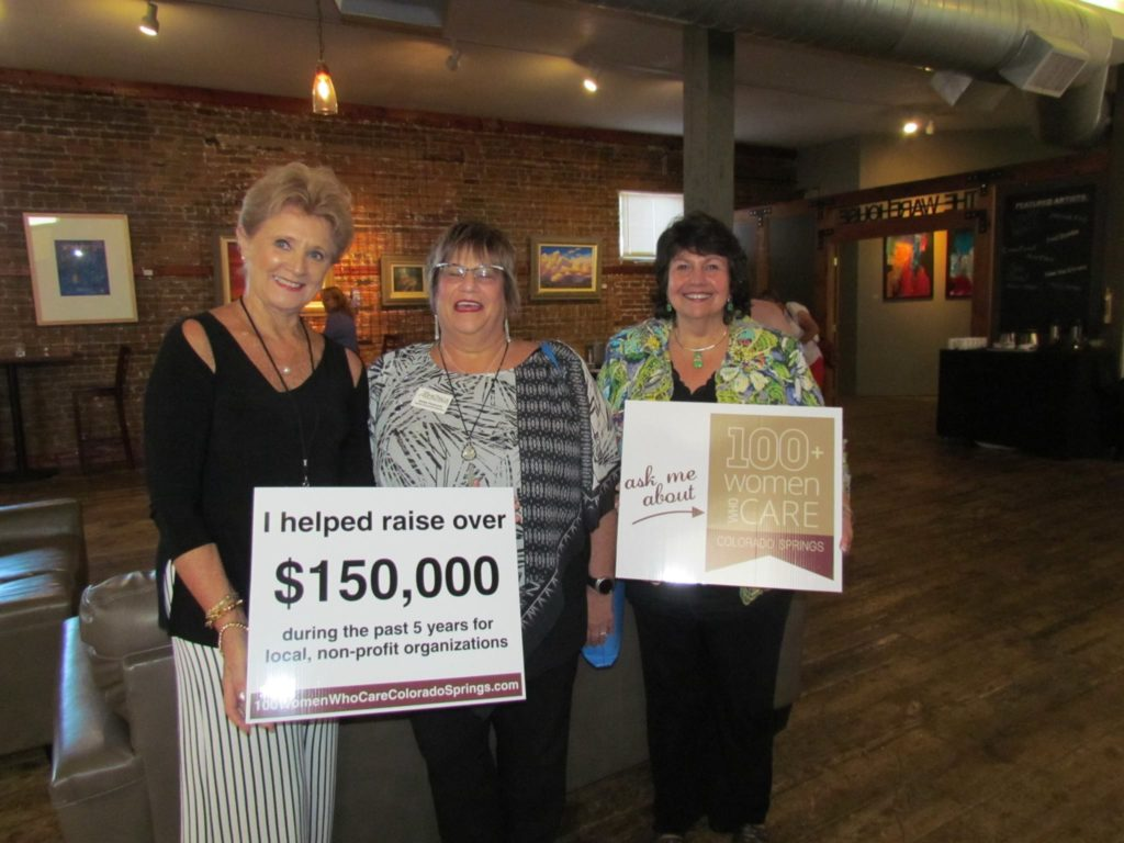 donors for 100 women who care colorado springs